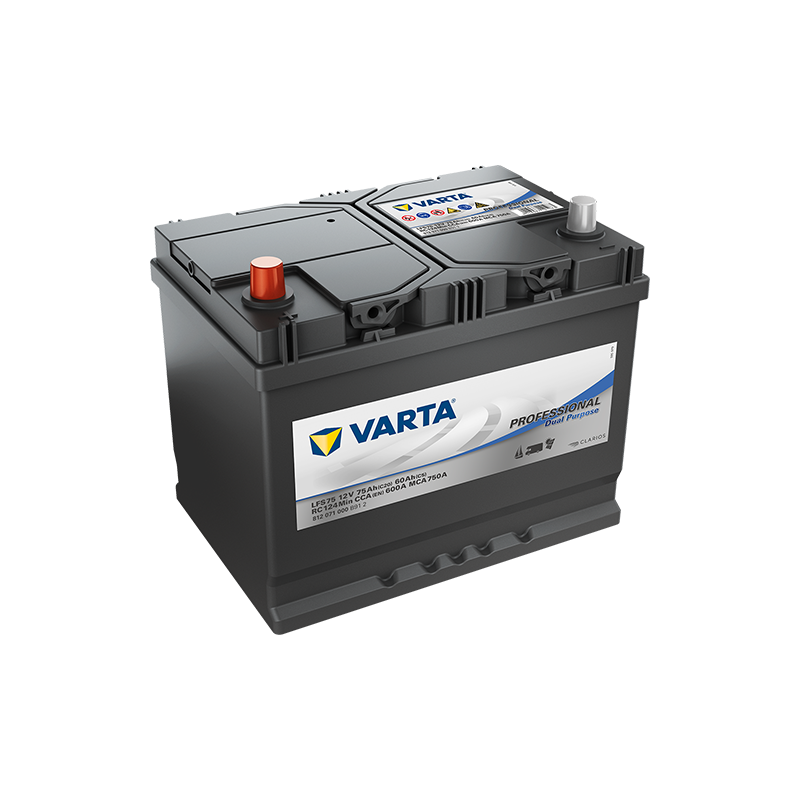 Akumulator VARTA Professional Dual Purpose 75 Ah
