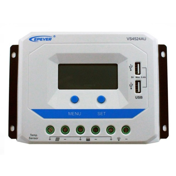 Solarni regulator polnjenja 45A Epsolar + USB