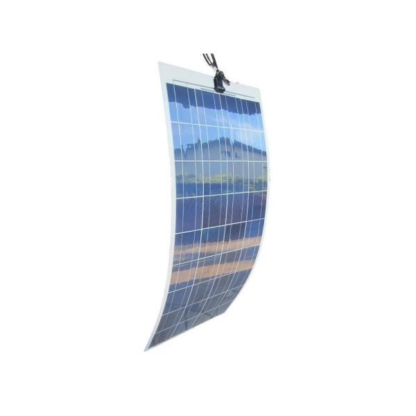 Pannello Solare Flessibile Policristallino : Modulo solare policristallino w flessibile