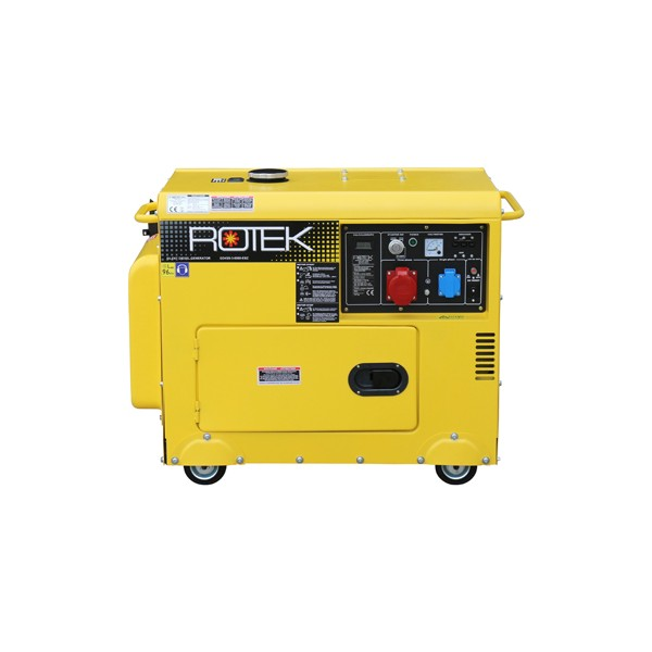 Diesel generator 5000W 3-phased with elec. starter