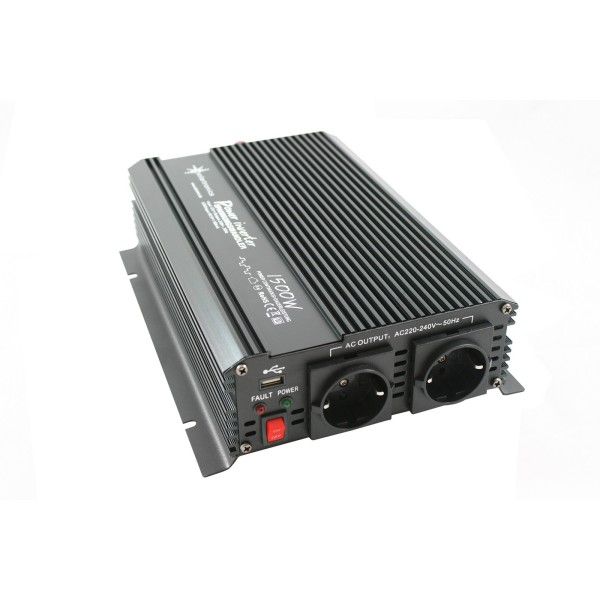 Razsmernik modificirani sinus 1500W 12V