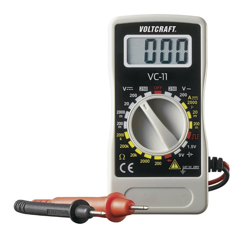 Ročni multimeter, digitalni VOLTCRAFT VC-11